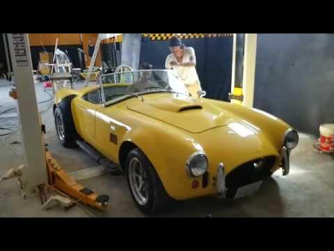 First Car in Ibiza Motor Monkey's Garage before opening 01.10.2016