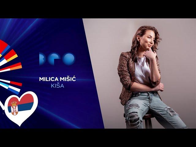 Milica Mišić - Kiša / Beovizija 2020