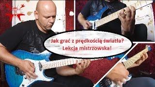 Jak grać kosmicznie szybko? Lekcja gościnna Tomka Andrzejewskiego! - e-gitarzystaTV
