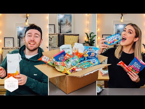 Trying American Candy from a Subscriber - In The Kitchen With Kate
