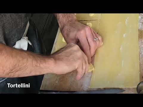 How to make filled pasta shapes