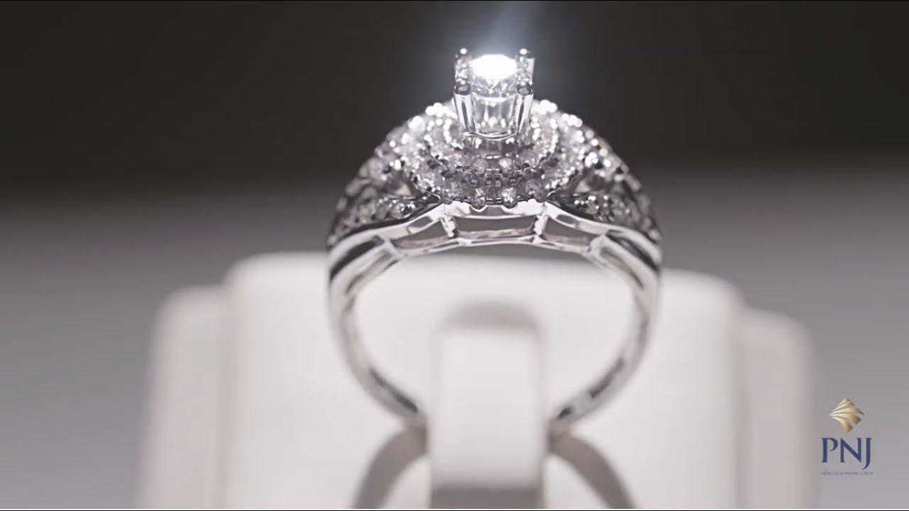Khám phá vẻ đẹp trang sức kim cương tự nhiên PNJ, kim cương cao cấp, sang trọng & quý phái