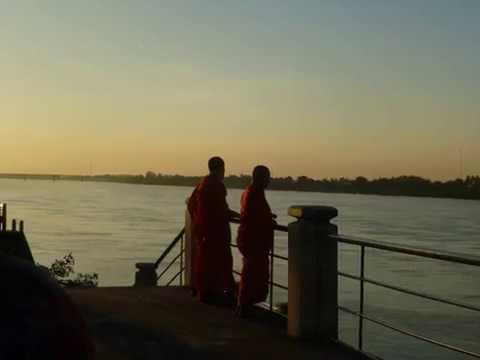 Nongkhai City on the banks of the Mekong River.  Sri Chiang Mai Up river  25 klms