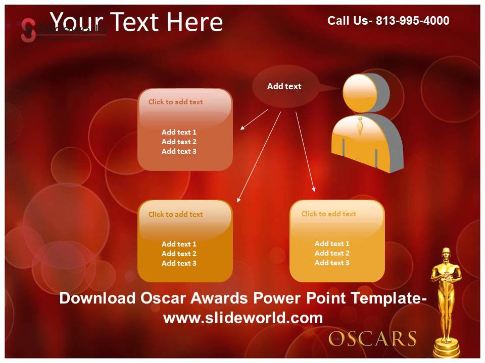 get online oscar awards powerpoint template - youtube, Modern powerpoint