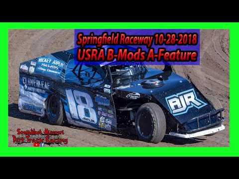 USRA B Mods A-Feature - Springfield Raceway 10/28/2018 - Willard Project Grad