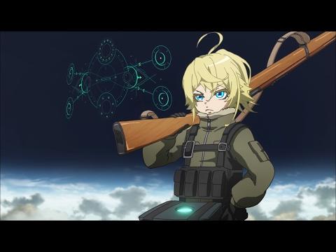 Youjo Senki - Magic rifle artillery