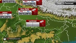 Maximums and minimums for major cities of India on September 15 | Skymet Weather