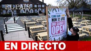 DIRECTO #COVID | Los pubs de Londres reabren sus terrazas