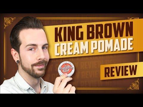 für-moderne-und-klassische-frisuren!-|-king-brown-cream-pomade-review-|-english-subtitles