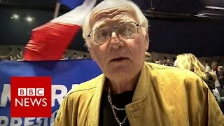 'Vive la France' - Marseille's voters on presidential race - BBC News