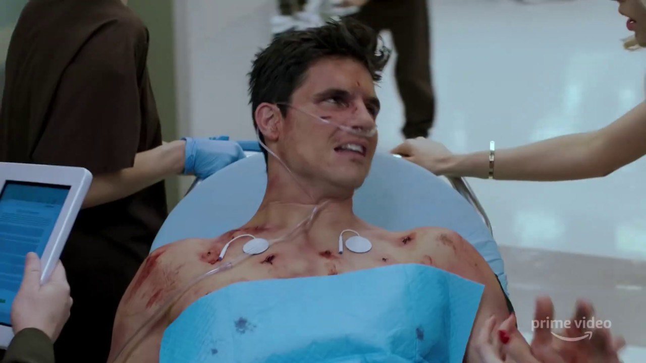 Upload Trailer (HD) Robbie Amell Amazon series - YouTube