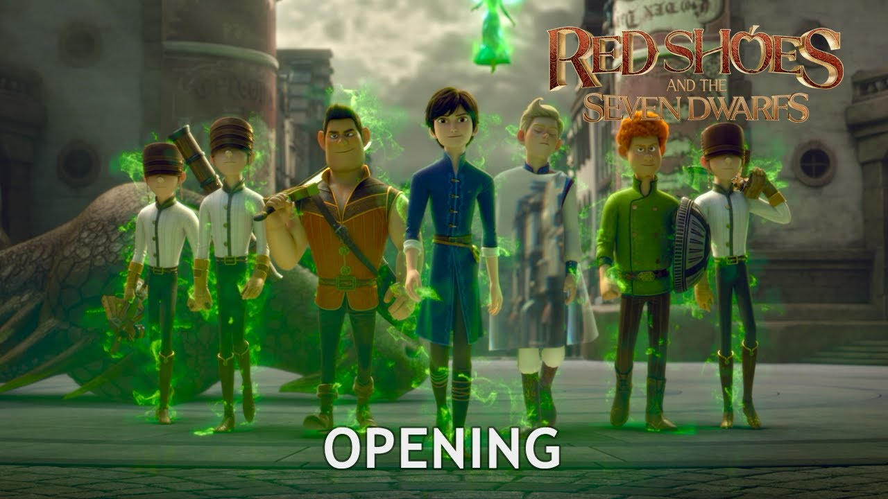Download RED SHOES AND THE SEVEN DWARFS l Opening [HD]
