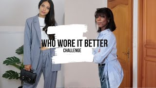 Who Wore It Better Challenge | feat. Q2HAN | JUST BECKS