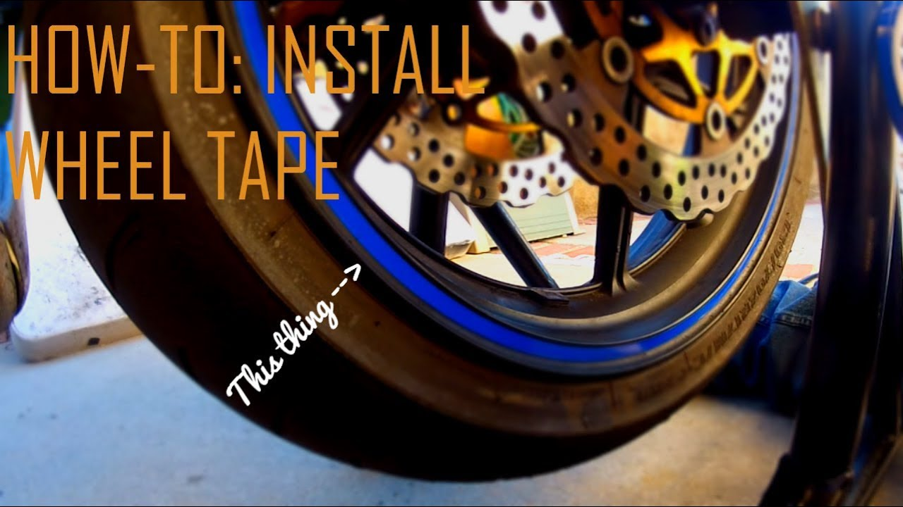 How To Install Wheel Tape Youtube