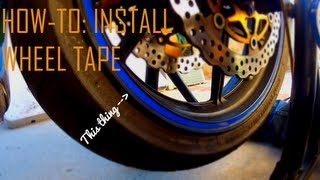 How To: Install Wheel Tape