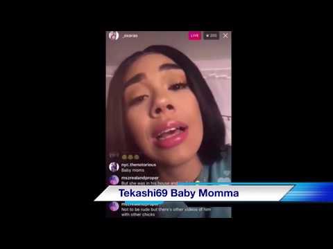 6ix9ine Baby mom responds to DJ Akademiks, Celina Powell & Tekashi over video of Celina & Tekashi