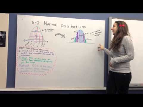 6-3 Normal Distributions