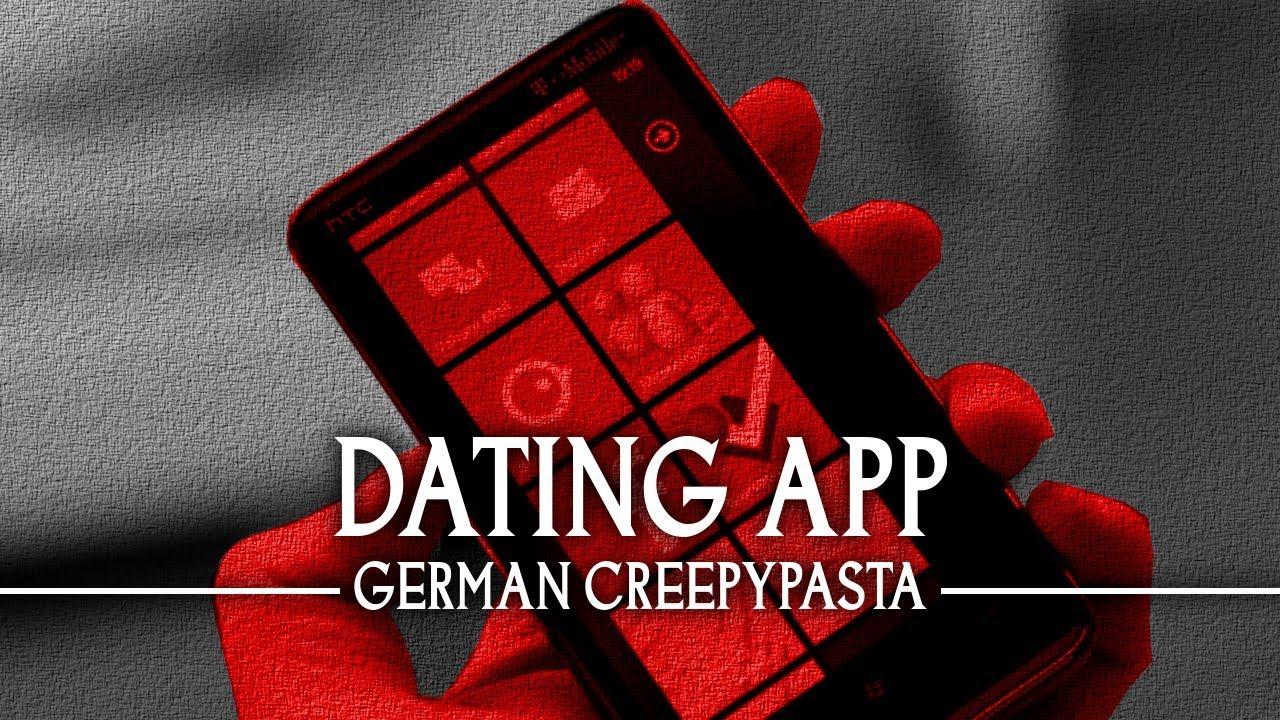 creepypasta dating app german deutsch youtube. Black Bedroom Furniture Sets. Home Design Ideas