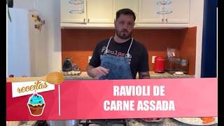Aprenda a fazer um delicioso ravioli de carne assada - 07/08/20