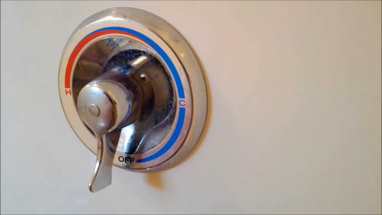 How To Replace A Moen Shower Cartridge - YouTube
