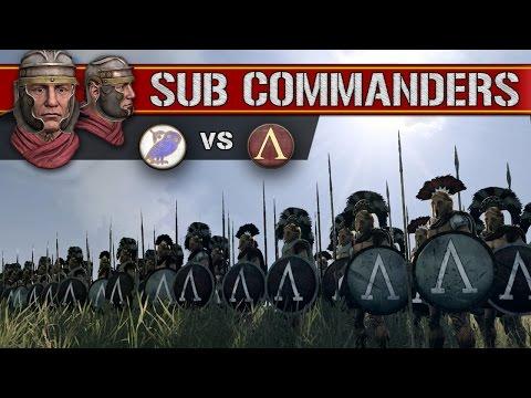 Athens vs Sparta (Sub Commanders)