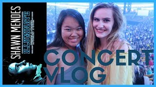 SHAWN MENDES Illuminate World Tour Boston Vlog || Daisy Blake Vlogs