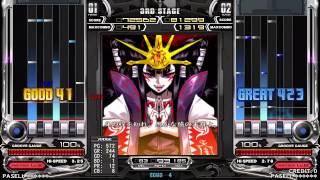 史上初!SP皆伝通しで全曲AAA!! Player : 2P DJ TAMNEX (DJ DOLCE.) ...