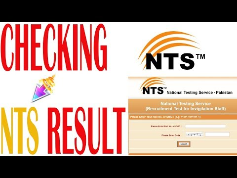How to check nts result online in 2017 | by wtadvise - YouTube