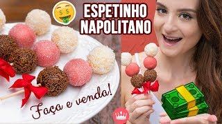 ESPETINHO DE BRIGADEIRO NAPOLITANO (FAÇA E VENDA!) | Cozinha do Bom Gosto | Gabi Rossi