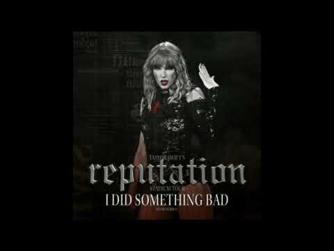 Taylor Swift - I Did Something Bad -...