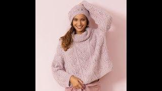 Модные Женские Джемпера и Пуловеры Спицами - 2019 / Fashionable Women's Sweaters and Pullovers