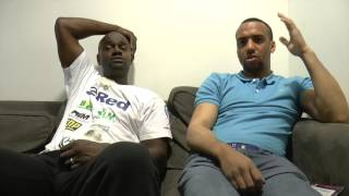 RANDOMLY FUNNY VIDEO - NICK MANNERS & TYAN BOOTH DISCUSSING JOSH WARRINGTON / LEE SELBY SITUATION