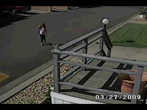 Surveillance video of Sandra Cantu