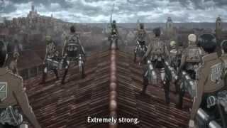 Repeat youtube video Shingeki No Kyojin Episode 7 Epic Mikasa