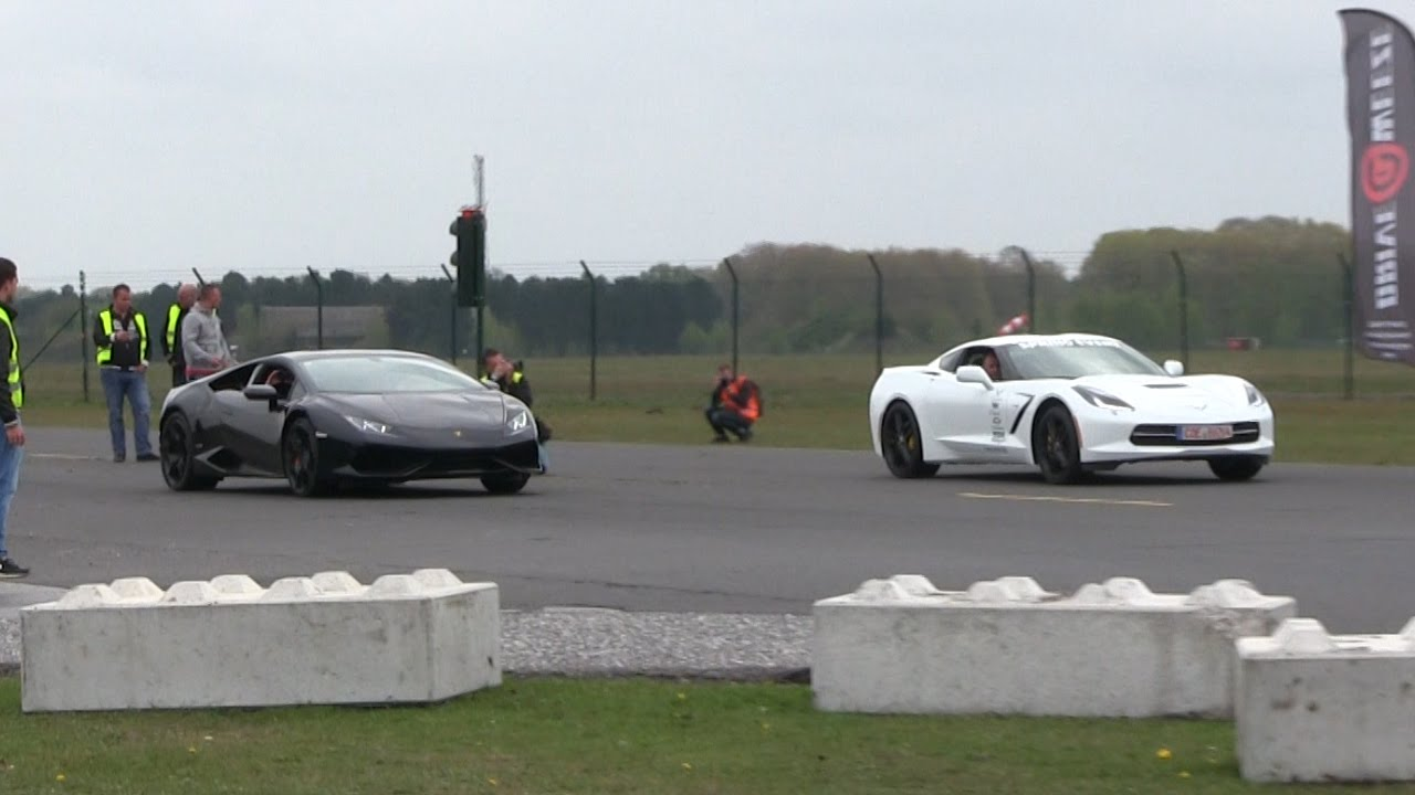Corvette C7 Vs Lamborghini Huracan Audi R8 911 Turbo You