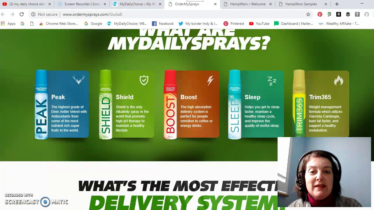 My Review of MyDailyChoice Sleep Spray