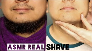 ASMR Trimming & Shaving Husband's Beard