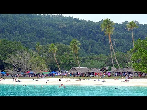 Vanuatu Champagne Bay Island Espiritu Santo 4K