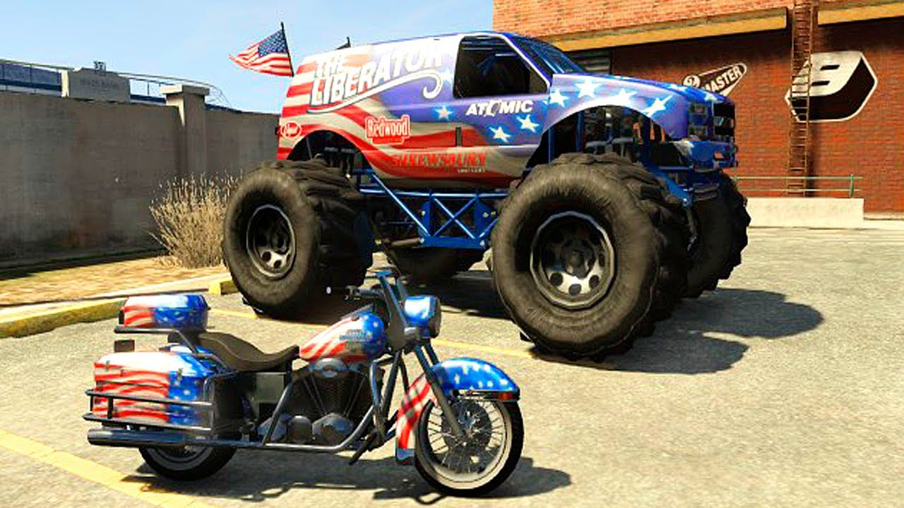 NEW CARS DLC INDEPENDENCE DAY UPDATE MONSTER TRUCK