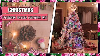 Unboxing And First Impressions of Vickerman Flocked Christmas Tree