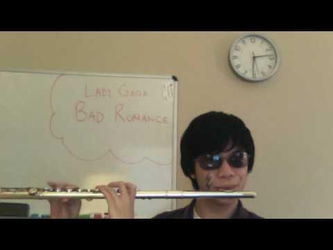 Lady Gaga Bad Romance Flute Cover