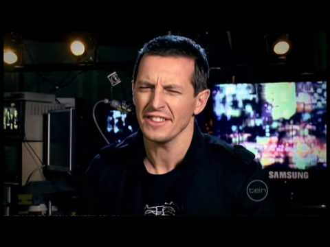 Green Day interview on ROVE - Australian tour 2009 (exclusive)