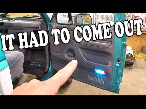 1994 F150 4x4 Door Panel And Speaker Fix And A Few Other Things Youtube