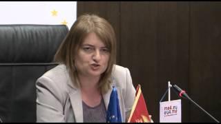 2016 03 10 Izlaganje generalne direktorice za evropske poslove u MVPEI Snezane Radovic na press konf