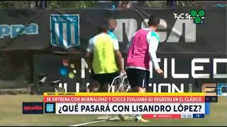 ¿Jugará Lisandro López el clásico con Independiente?