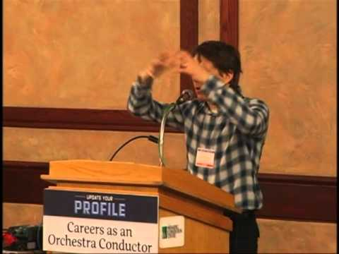 RCS 2013 -- Career as an Orchestra Conductor - Alexander Mickelthwate