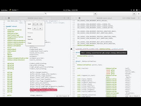 GNOME Builder — Features Review and Coding Practice