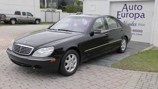 The W220 Like the 2001 Mercedes Benz S 430 was an answer to the over engineered W140