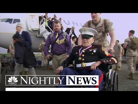 Veterans Remember the Battle of Iwo Jima 70 Years Later | NBC Nightly News