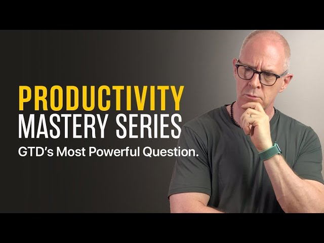 The Most Powerful Question If You Want To Be More Productive.